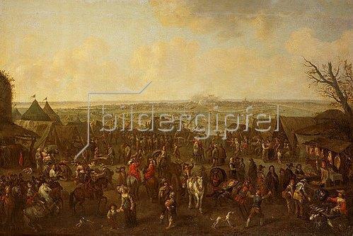Adam Frans van der Meulen: Die Belagerung einer Stadt
