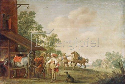 Peeter Meulenaer: Eine Schmiede. 1648