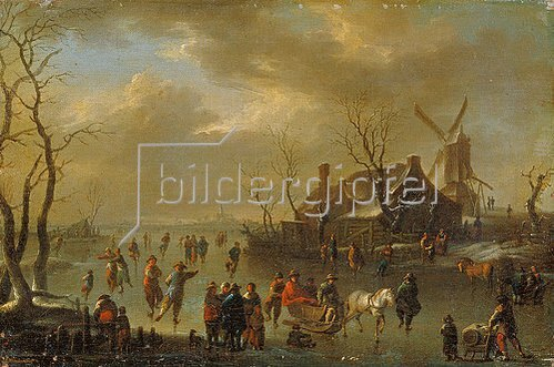 Klaes Molenaer: Winterlandschaft