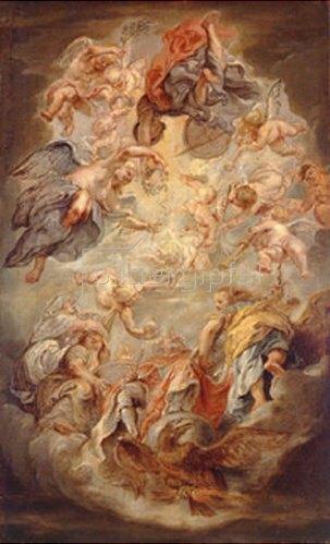 Peter Paul Rubens: Apotheose des Königs Jakob I. von England (und Jakob VI. von Schottland). 1630/1