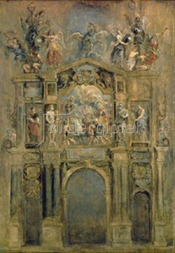 Peter Paul Rubens: Triumphbogen anlässlich des Sieges von König Ferdinand bei Nördlingen 1634.