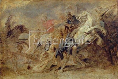 Peter Paul Rubens: Die Löwenjagd. Um 1621