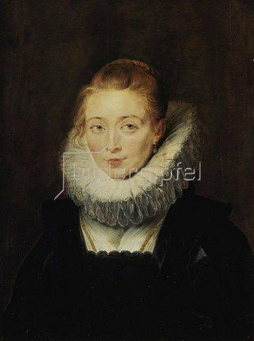 Peter Paul Rubens: Hofdame der Infantin Isabella. 1623/1625