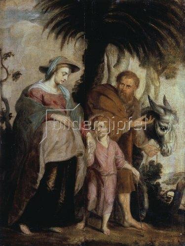 Peter Paul Rubens: Die Rückkehr der Hl. Familie aus Ägypten. 1614
