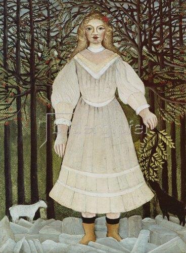 Henri Rousseau: Das junge Mädchen. 1893/95