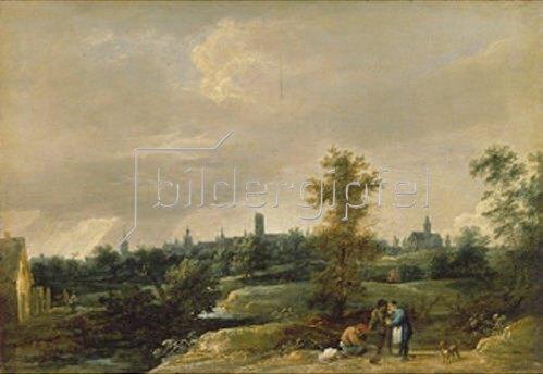 David Teniers: Ansicht von Brüssel