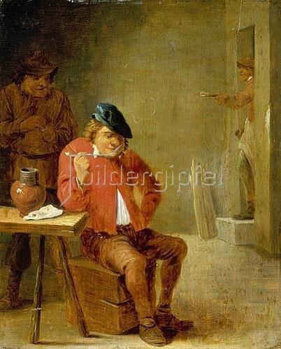 David Teniers: Ein Raucher. 16454