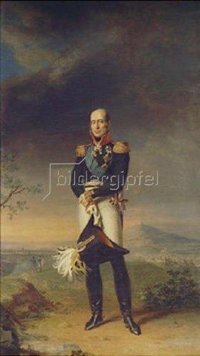 George Dawe: Bildnis des Herzogs und Feldmarschalls M. Barclay de Tolly. 1829.