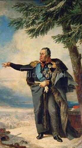 George Dawe: Bildnis von Feldmarschall M. Kutusov (1745-1813). 1829.