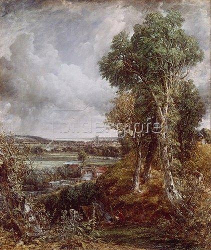 John Constable: Das Tal von Dedham.