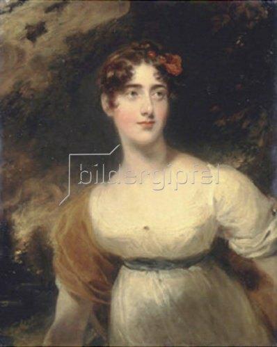 Sir Thomas Lawrence: Milady Emily Harriet Fitzroy (1792-1881). Um 1815.