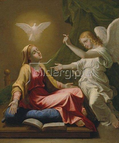 Nicolas Poussin: Verkündigung Mariae.