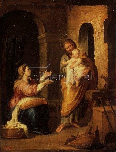 Bartolomé Estéban Murillo: Die Heilige Familie. 1660/70