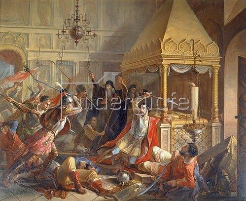 Wassily Kuzmich Demidov: Die Heldentat des Fürsten M. Volkonsky während der poln. Belagerung 1610. 1842