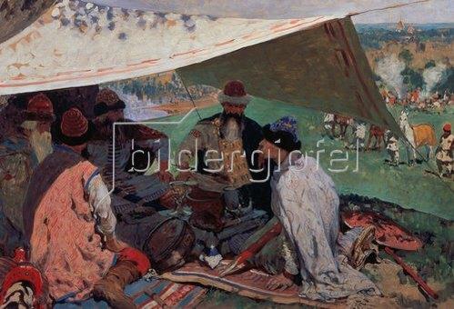 Sergej Iwanow: Die Zusammenkunft der Prinzen. 1910.