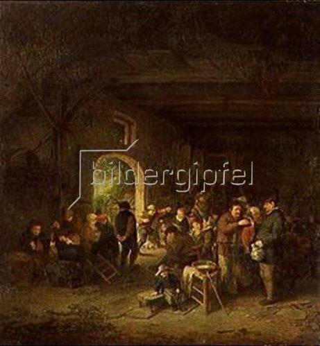 Adriaen van Ostade: Tanz in der Bauernstube.