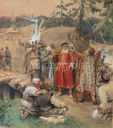 Klawdij Wassiljew Lebedjeff: Die Eroberung neuen Landes in Russland. 1904.
