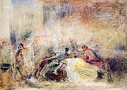 Konstantin Jegor Makovskij: Der Tod von Claudius Caesar Nero.