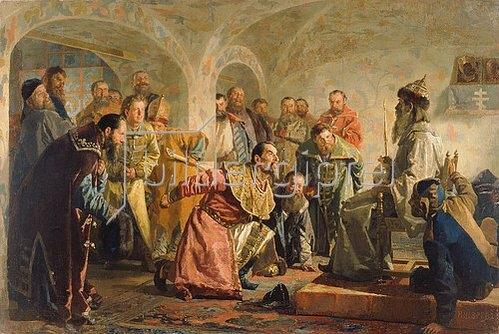 Nikolaj Wassiljewitsch Nevrev: Die Oprischniks.