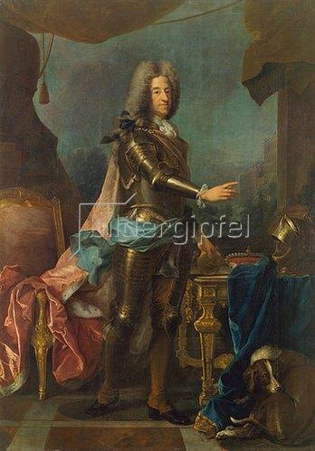 Joseph Vivien: Kurfürst Max Emanuel von Bayern, Bildnis, (1662-1726).