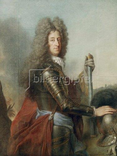 Joseph Vivien: Bildnis des Kurfürsten Maximilian II. Emanuel von Bayern (1662-1726).