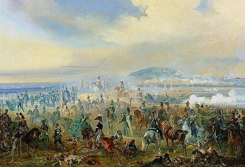 Bogdan Willewalde: Die Schlacht bei Leipzig. 1813