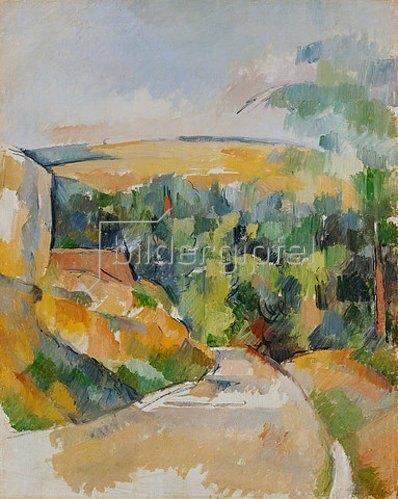 Paul Cézanne: Straßenbiegung. 1900/06