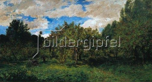 Charles-François Daubigny: Le Verger (Der Obstgarten zur Erntezeit). 1876