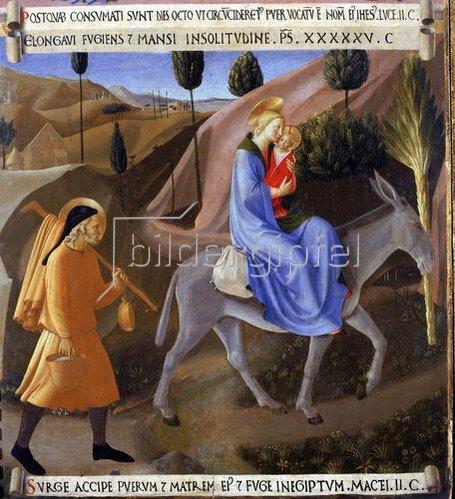 Fra Angelico: Die Flucht nach Ägypten