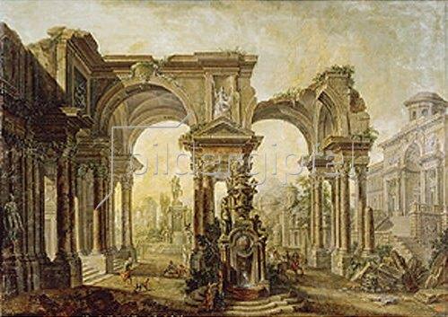 Alexej Belsky: Palastruinen. 1792.