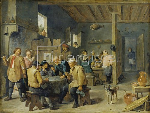 David Teniers: Zechstube. 1643