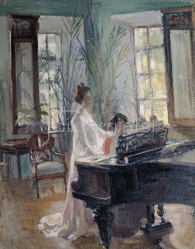 Alexander Sredin: Im Musikzimmer.