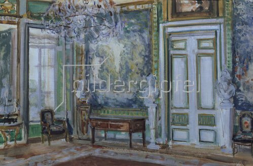Alexander Sredin: Gobelinwand des Ankleidezimmers im Palast von Fürst Scheremetjev.