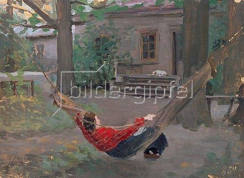 Jakov Kalinichenko: In der Hängematte. 1903
