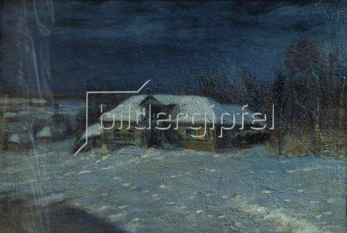 Manuel Aladjalov: Winter. Um 1900.