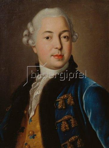 Iwan Petrowitsch Argunoff: Bildnis des Prinzen S.M. Golitsyn (1727-1806). 1760.