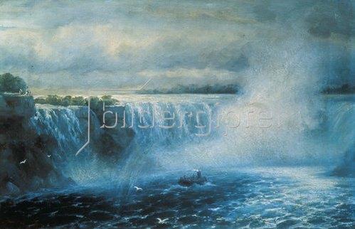 Konstant.Iwan Aiwassowskij: Die Niagara-Fälle. 1894.