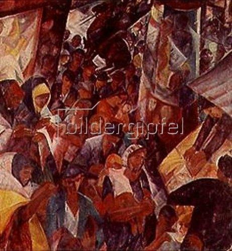 Gyula Derkovits: Straße. 1927.