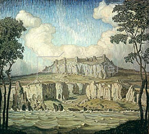 Konstantin Bogajevski: Steilküste. 1907.