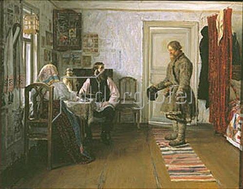 Iwan Bogdanov: Die Kündigung. 1890.