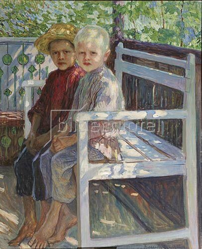Nikolai P Bogdanow-Bjelski: Kinder.