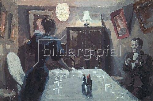 Viktor Borissow-Mussatow: In Erwartung der Gäste. 1894.