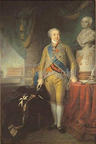Wladimir Luk Borowikowski: Bildnis des Fürsten Alexander Kurakin (1752-1818). 1801/1802