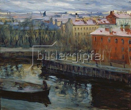 Josef Emmanuelowitsch Bras: In St. Petersburg.