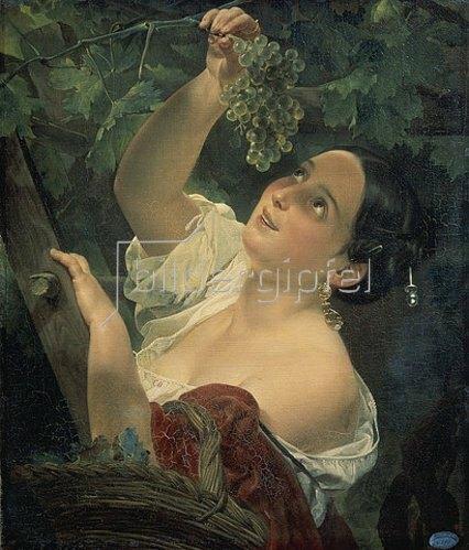 Karl Brüllow: Mittagszeit in Italien. 1827