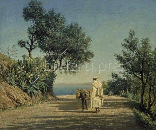 Pawel Brjullow: Der Weg zum Meer, Algerien. 1883