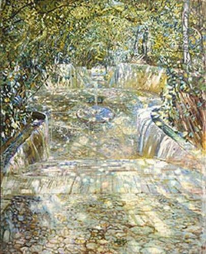 Isaak Brodskij: Ein Brunnen. 1909.
