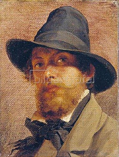 Feodor Andrejew Bronnikoff: Selbstbildnis. 1856.