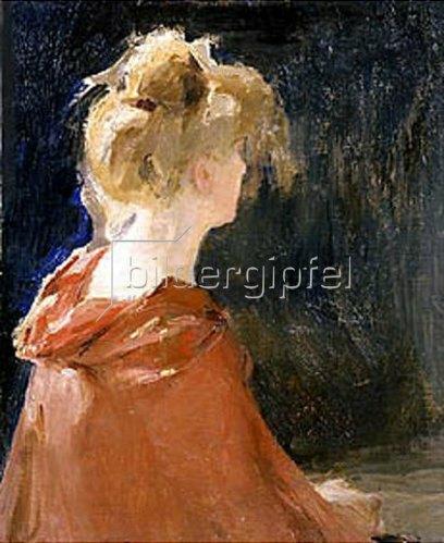 Jan Franzewitsch Cioglinskij: Damenbildnis Teerose. 1905.