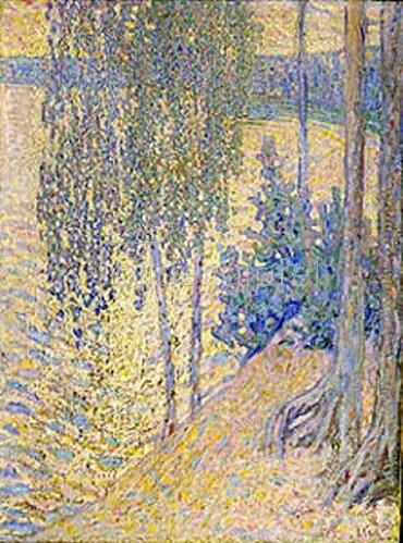 Alexander Gausch: Birken. 1910-er Jahre